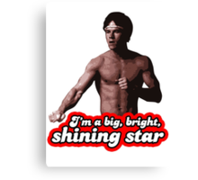 Dirk Bright Shining Star Canvas Print