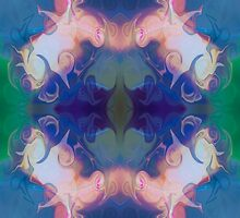 Merging Fantasies Abstract Pattern Artwork by owfotografik