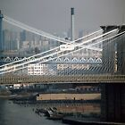 Manhattan & Brooklyn Bridge's by John Schneider