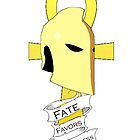 Dr. Fate Favors the Fearless Shirt by gentilj17