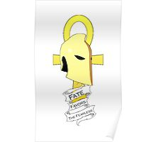 Dr. Fate Favors the Fearless Shirt Poster