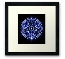 Human Transmutation Circle Framed Print
