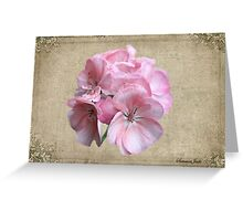 Geranium ~ Grandmother's Favorite Greeting Card