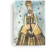 Princess HoneyBee Canvas Print