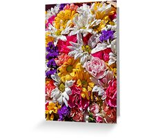 Be like the flower, turn your faces to the sun. Greeting Card