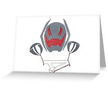 Ultron's Puppet Greeting Card