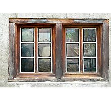 Looking Inside the Old Potting Shed Photographic Print