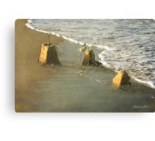 Ruins ~ Time & Tide Wait for No Man Canvas Print