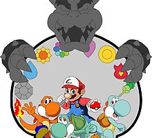 SUPER POKEMON BROS by popcultchart