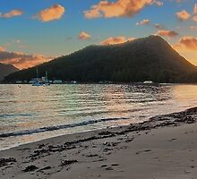 Shoal Bay Sunrise 1 Panoramic by bryanstalder