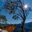 Hanging Rock, Blue Mountains, Australia by Erik Schlogl