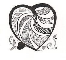 Decorative Heart by DebbieSheldon