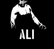 """ALI"" Muhammad Ali (Rumble in the Jungle) by steadbrooke"