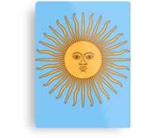 Sol de Mayo- The Sun of May Metal Print