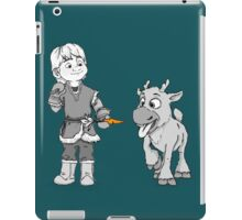 Reindeer are better than people iPad Case/Skin