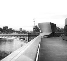 Yarra River as seen from Arts Centre by jamespaullondon