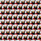 Endless Festive Pengins by Lisa Marie Robinson