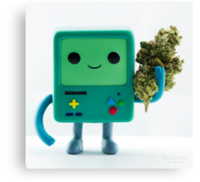 Bmo smoke? Canvas Print