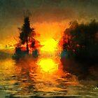 Sunrise at Frog Lake by Gilberte