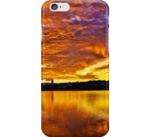Burning sky iPhone Case/Skin