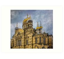 Church of the Assumption of the Blessed Virgin Mary - St. Petersburg Art Print