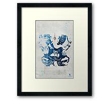 GANESHA art print Framed Print