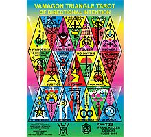 VAMAGON TRIANGLE TAROT CARDS T29 Photographic Print