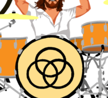 Rock 'Em Like Bonham Sticker