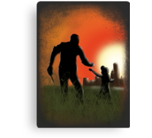 Lee and Clementine Canvas Print