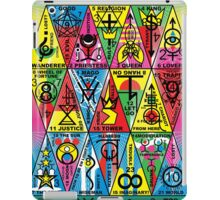 VAMAGON TRIANGLE TAROT CARDS T29 iPad Case/Skin