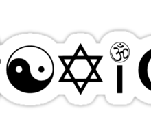 Religion Is Toxic Freethinker Sticker