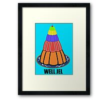 Well Jel Framed Print