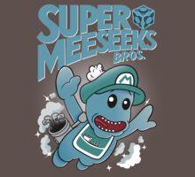 Super Meeseeks Bros. shirt iPhone iPad case pillow T-Shirt