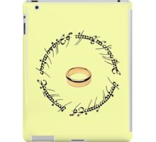 The One Ring. iPad Case/Skin