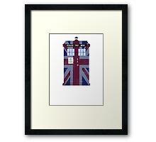 Union Jack Police Box Framed Print