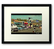 The Motel Framed Print