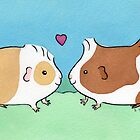 Guinea-pig Sweethearts #2 by zoel