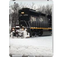 Illinois Central Locomotive 6204  iPad Case/Skin