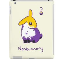Original Nonbunnary iPad Case/Skin