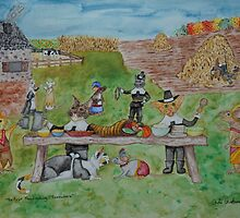 The First Thanksgiving... Somewhere by Asha Hawkesworth