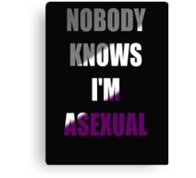 Asexual Canvas Print
