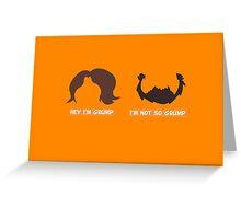 Game Grumps Jon & Arin Hair Greeting Card