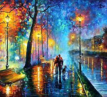 Melody Of The Night — Buy Now Link - http://goo.gl/n5ihpj by Leonid  Afremov