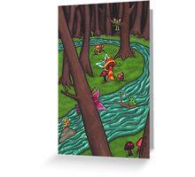 Frisky Forest Greeting Card