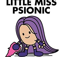 Little Miss Psionic by irkedorc