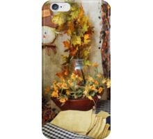 In celebration of fall iPhone Case/Skin