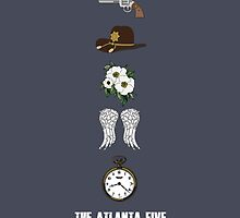The Atlanta Five by Valerie Canizales