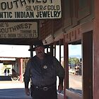 Pretend Marshall - in Tombstone Az. by Ann Warrenton