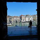 Tourist in Venice by hans p olsen