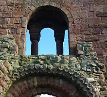 Priory Stonework by Francis Drake